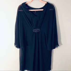 Connected appeal blue dress